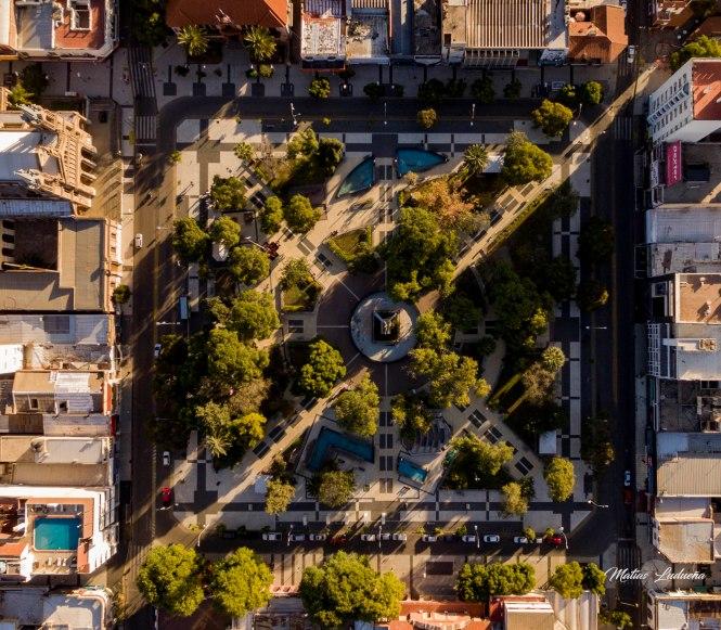 Cenital Plaza 25 de Mayo