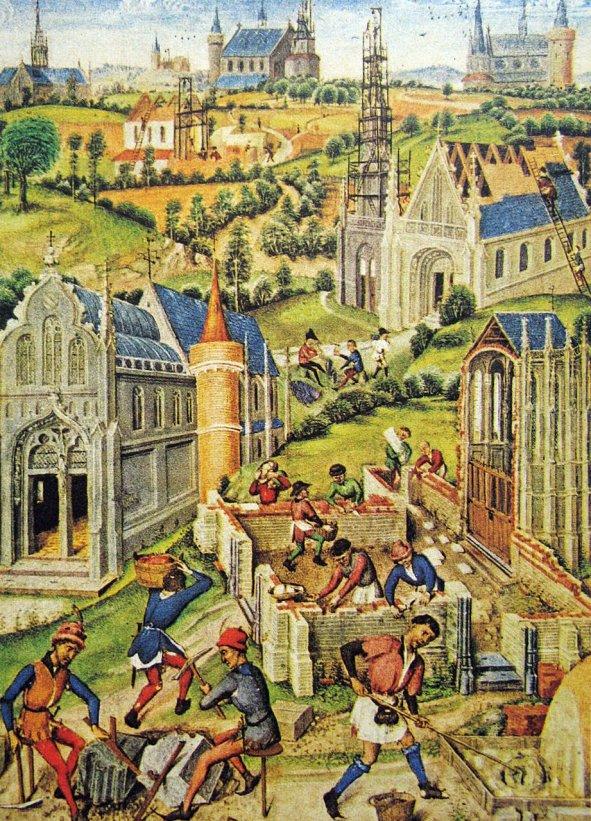 Construcao cidades. A cidade medieval